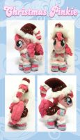 Christmas Pinkie Pie Mini Plush by Starimo