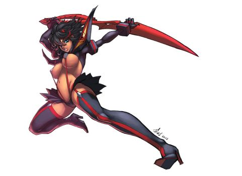 Ryuko Matoi Color by logicfun