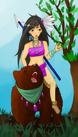 On a bear by Otakucouture
