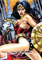 Wonder Woman Sketch Card by Sigint