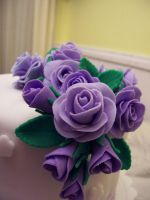 Fondant Roses by Anabelle1973