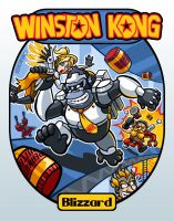 Winston Kong by hooksnfangs