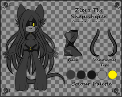[Reference] Ziera The Shapeshifter by R-Wulfi