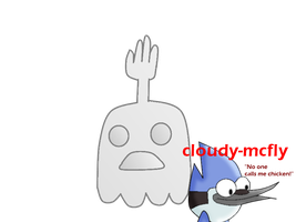 High five ghost. by Cloudy-Mcfly