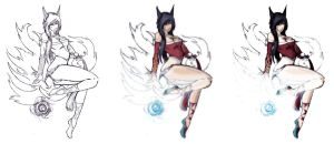 Ahri Full by trifalien