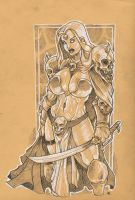 Barbarian  2 Diablo 3 contest by dragonfish74