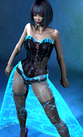 AICL - The Hologram Skirt 2 by jemstone