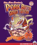 Pork butts and taters T-shirt Design by alsnow