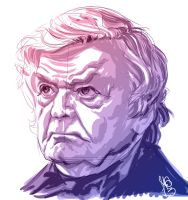 Hal Holbrook by MicahJGunnell
