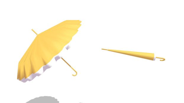 MMD Lady Parasol Download by 9844
