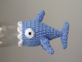 Tiny shark hat pattern by AnneKo
