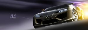 Mercedes-Benz SLS 1 by husseindesign