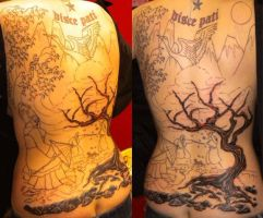 backpiece in progress by Doctah-Jones
