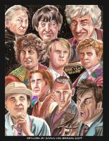 The Ten Doctors by ShawnVanBriesen
