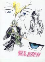 Bleach anime practice by JacyLansangLane