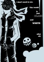 SOS-A : Black and White by Kuro-D