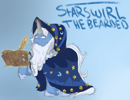 Starswirl the Bearded Practice by UnicornSketch