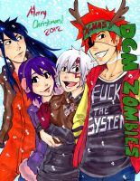 A Very Zombies Christmas by The-Butterses