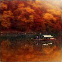 Autumn's Pond by denkyo
