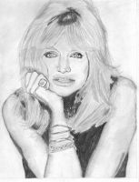 Goldie Hawn by bclara88