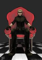 -Wesker- by obsceneblue