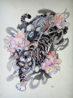 Tattoo design - Riders by Xenija88