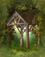 Fantasy Wood free image by moonchild-ljilja