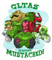 Mustached by fangirl-art