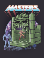 Inflatable Castle Grayskull by Griggitee