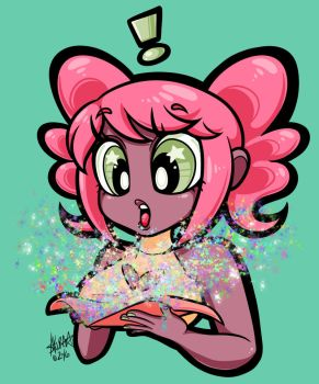 Glitter Bomb! by zombielily
