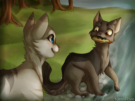 Not as Easy as it Looks REDRAW (+Speedpaint) by NeonFiire