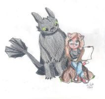 Me and Black by WildGirl91