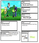 Rocks and Water Pros and Cons by cartoonobsessedSTAR1