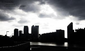 London Docklands by Mr-Xvious