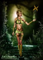 Forest Fantasy Princess by SK-DIGIART