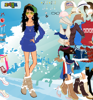 Winter Trend Dress up Game by willbeyou