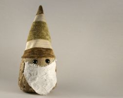 Upholstered Gnome Plushie by Saint-Angel