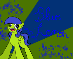 Blue Lemon Wallpaper :request: by StarShineTheAlicorn