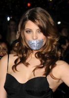 Ashley Greene taped by ikell