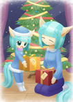 Commission Winter present by HowXu