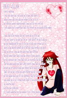 Grell's confession letter by MoonBeamDust