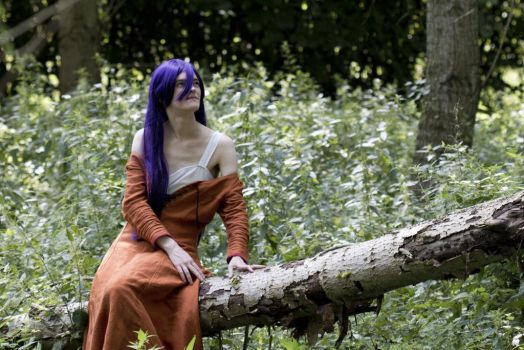 [Cosplay - Forever Young - Naraku] On a tree by mene
