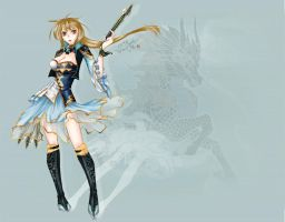 Dynasty Warriors 7)Wang Yuanji(again) by Draven4157