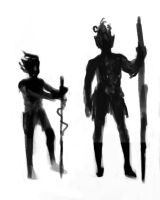 Gnome Silhouette Designs by Stungeon