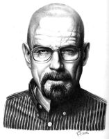 Walter white study by atdoodle
