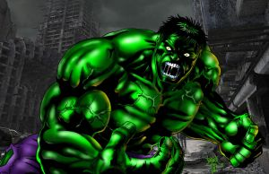Raging Hulk by BigRob1031