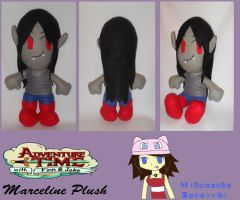 :AT: Marceline Plush by MiharutheKunoichi