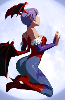 Lilith's Moon by morganagod