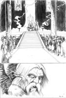 Thor page 2- Odin by DottorFile