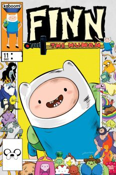 Adventure Time Comics #11 cover by rismo